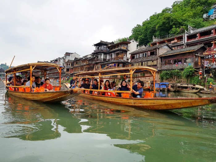 Beauty of the Fenghuang Ancient City