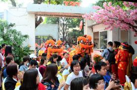 TST tourist họp mặt khách hàng xuất hành đầu năm