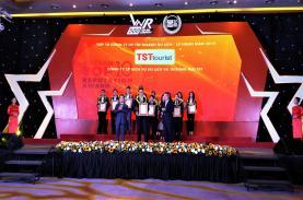TST tourist lần thứ 3 liên tiếp đạt giải Top 10 công ty du lịch lữ hành uy tín