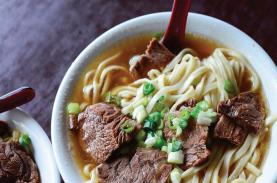 Mì bò - món ngon nhất xứ Đài Loan