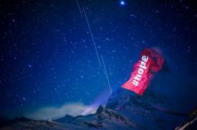 Thông điệp hy vọng trên dãy Alps
