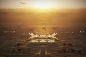 Sân bay mới ở Arab Saudi giống 'phép màu trên sa mạc'