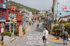 Khám phá làng bích họa nổi tiếng ở Hàn Quốc