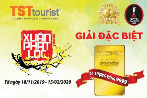 Du Xuân Phát Lộc – Đón Tết Sum Vầy cùng TST tourist