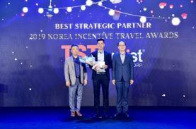 """TST tourist đạt giải """"Đối tác Chiến lược"""" của TCDL Hàn Quốc năm 2019"""