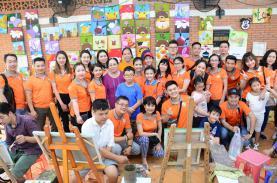 TST Tourist's 2nd volunteer program - Sharing love