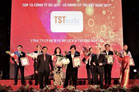 TST Tourist voted as top 10 travel companies 2017 - VietnamNet