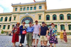 TST tourist thu hút du khách trải nghiệm Tp.HCM