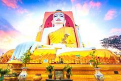 MYANMAR: YANGON - KYAIKHTIYO - CHÙA ĐÁ VÀNG - BAGO